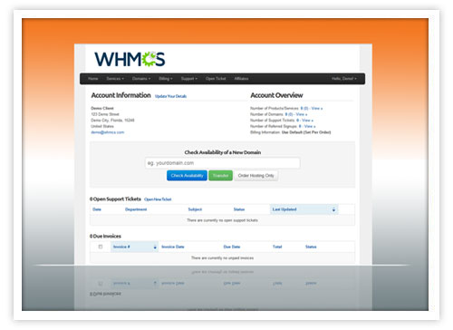 WHMCS reseller