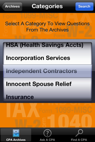 ask a cpa app