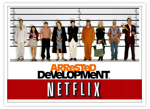 arrested development netflix crash