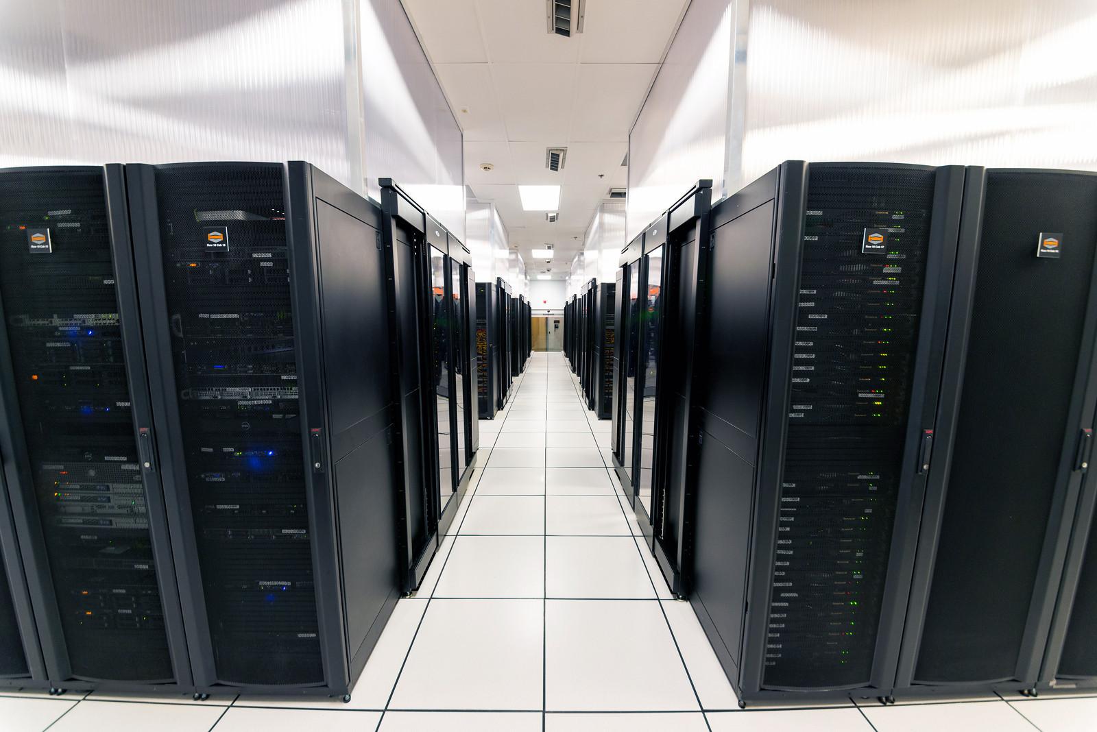 hostdime datacenter floor