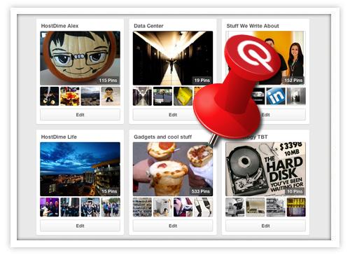 HostDime Pinterest