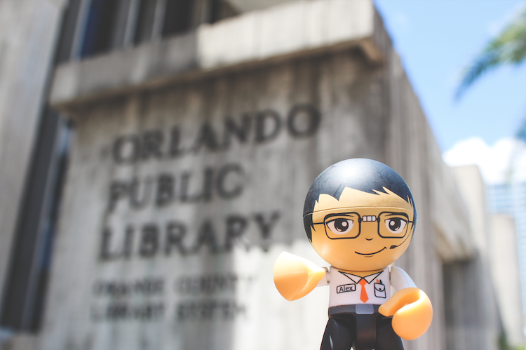 downtown orlando guide library