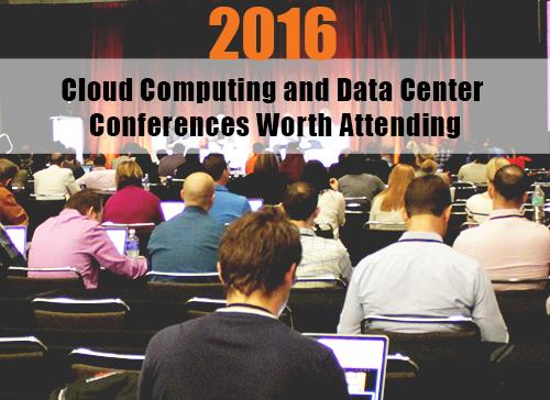 2016 data center conferences