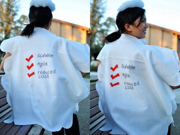cloud computing halloween costume