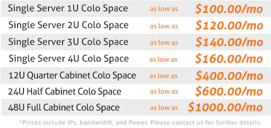 florida colocation prices