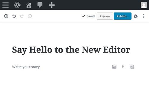 new wordpress classic editor