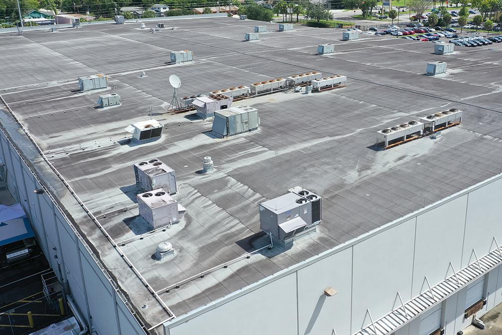 roof top antenna data center
