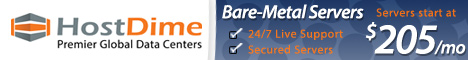 Bare-Metal Servers by HostDime