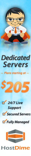 Dedicated Servers by HostDime