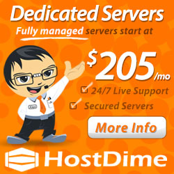 Dedicated Servers by HostDime