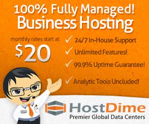 Shared Web Hosting by HostDime