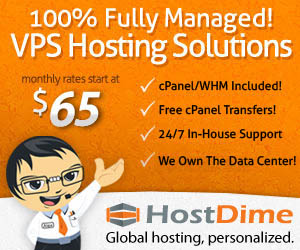 VPS Web Hosting by HostDime