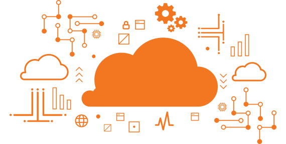 HostDime Cloud graphic