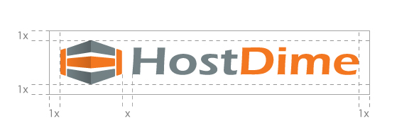 HostDime logo guide