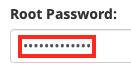 Enter the Root Escalation Password