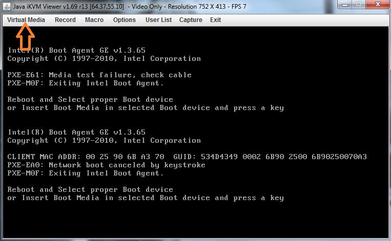 How to Install an OS Through IPMI - HostDime Knowledge Base