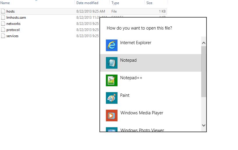 Advanced Website Testing via the HOSTS File - HostDime