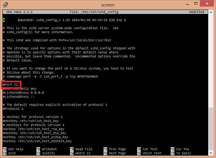 Changing the SSH Port for Dedicated Servers - HostDime