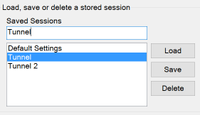 Type a Name for the Saved Session and Click Save