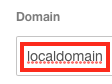 Optionally you can Adjust the Domain Assigned to the VM