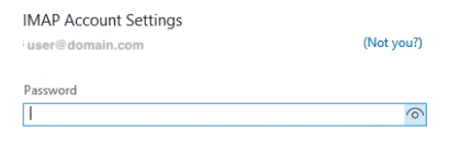 If Outlook Figures Out Your Settings, Enter Your Password When Prompted