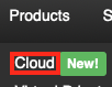 Select Products and then Click on Cloud
