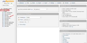 Wordpress SiteURL phpMyAdmin 2