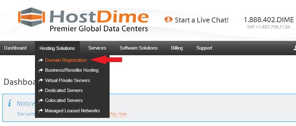 Domain Registration CORE